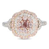 6F605601AQLRPD 18KT Pink Diamond Ring