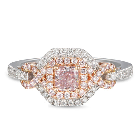 6F605602AQLRPD 18KT Pink Diamond Ring