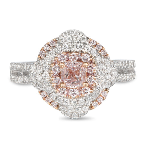 6F605603AQLRPD 18KT Pink Diamond Ring