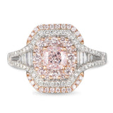 6F605604AQLRPD 18KT Pink Diamond Ring
