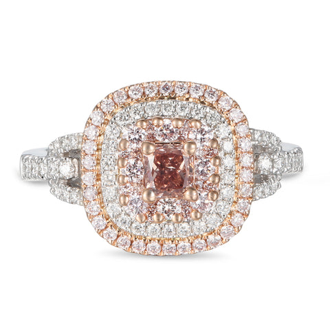 6F605606AQLRPD 18KT Pink Diamond Ring