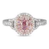 6F605607AQLRPD 18KT Pink Diamond Ring