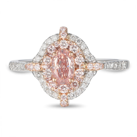 6F605608AQLRPD 18KT Pink Diamond Ring