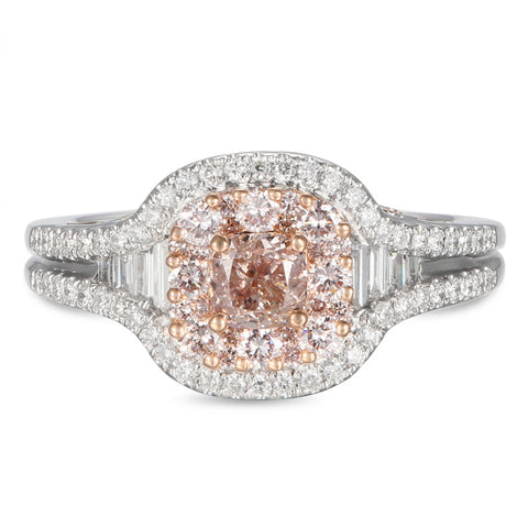 6F605609AQLRPD 18KT Pink Diamond Ring