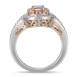6F605610AQLRPD 18KT Pink Diamond Ring