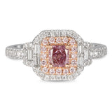 6F605616AQLRPD 18KT Pink Diamond Ring