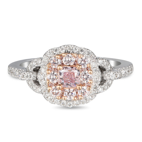 6F605697AQLRPD 18KT Pink Diamond Ring