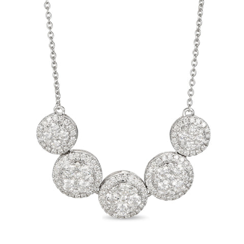 6F605868AWCHD0 18KT White Diamond Necklace