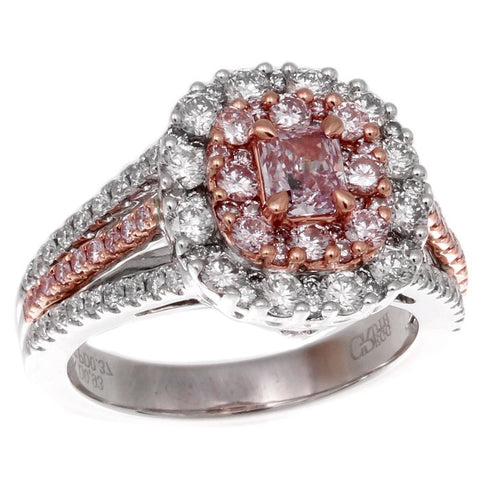 6F606317AQLRPD 18KT Pink Diamond Ring
