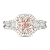 6F606322AQLRPD 18KT Pink Diamond Ring