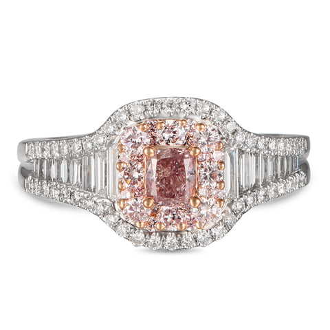 6F606323AQLRPD 18KT Pink Diamond Ring