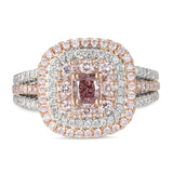 6F606324AQLRPD 18KT Pink Diamond Ring