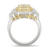 6F606361AWLRYD 18KT Yellow Diamond Ring