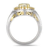 6F606362AULRYD 18KT Yellow Diamond Ring