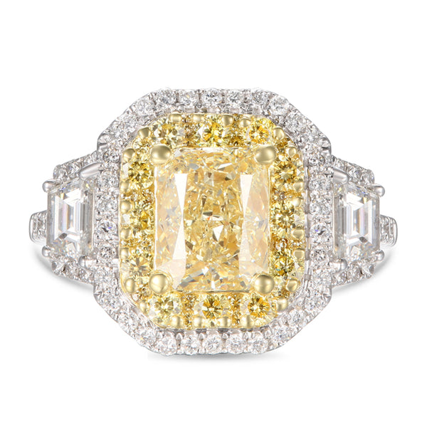 6F606674AULRYD 18KT Yellow Diamond Ring