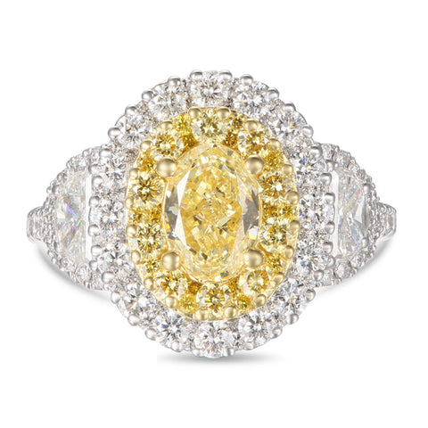 6F606754AULRYD 18KT Yellow Diamond Ring
