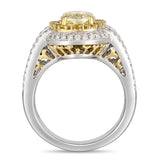 6F607004AULRYD 18KT Yellow Diamond Ring
