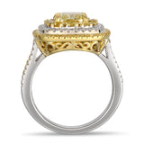 6F607017AULRYD 18KT Yellow Diamond Ring