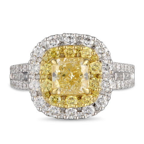 6F607018AULRYD 18KT Yellow Diamond Ring