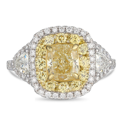 6F607034AULRYD 18KT Yellow Diamond Ring