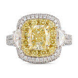 6F607038AULRYD 18KT Yellow Diamond Ring