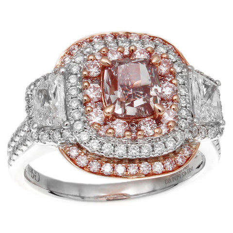 6F608102AQLRPD 18KT Pink Diamond Ring