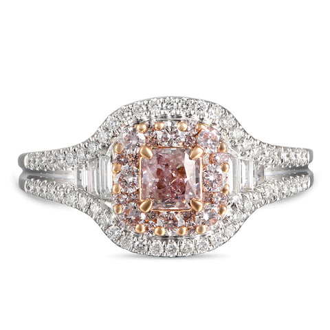 6F608103AQLRPD 18KT Pink Diamond Ring