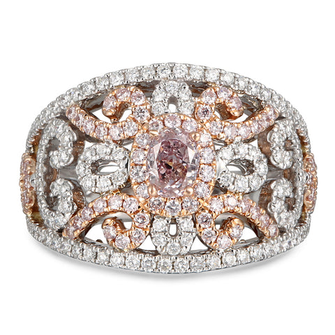 6F608105AQLRPD 18KT Pink Diamond Ring