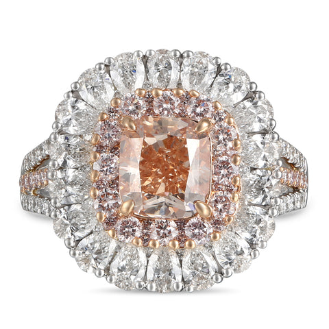 6F608108AQLRPD 18KT Pink Diamond Ring