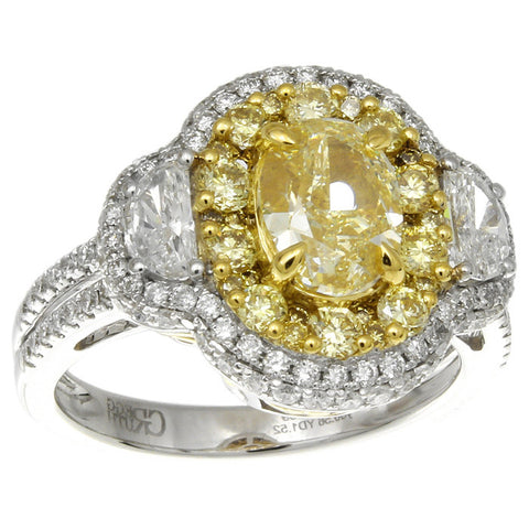6F608210AULRYD 18KT Yellow Diamond Ring
