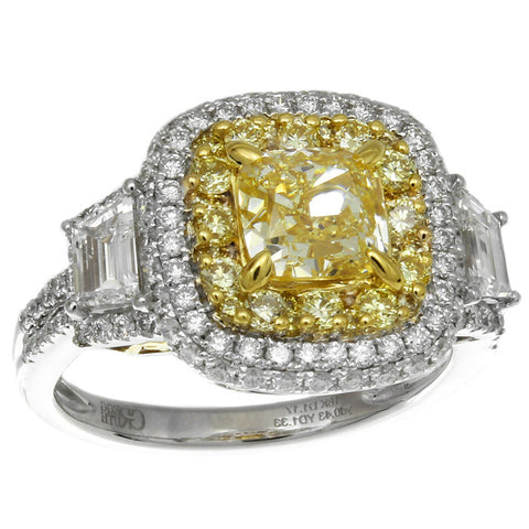 6F608211AULRYD 18KT Yellow Diamond Ring
