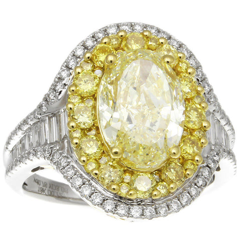 6F608336AULRYD 18KT Yellow Diamond Ring