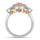 6F608374AQLRPD 18KT Pink Diamond Ring