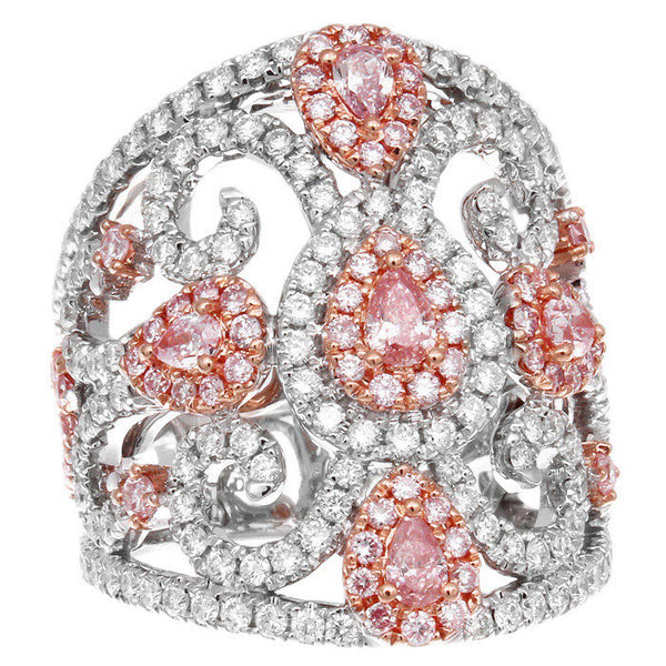 6F608628AQLRPD 18KT Pink Diamond Ring