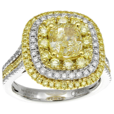 6F608663AULRYD 18KT Yellow Diamond Ring