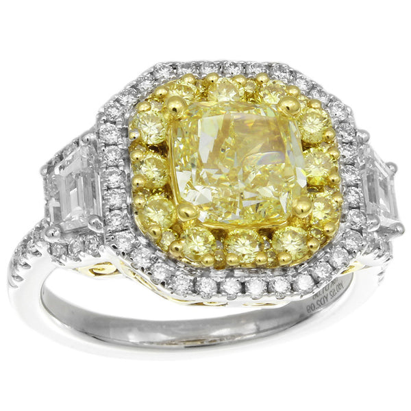 6F608665AULRYD 18KT Yellow Diamond Ring