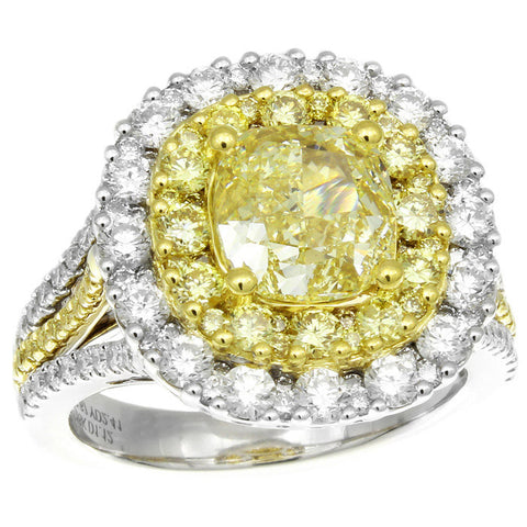 6F608666AULRYD 18KT Yellow Diamond Ring