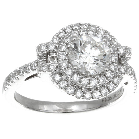 6F608818AWLRD0 18KT White Diamond Ring
