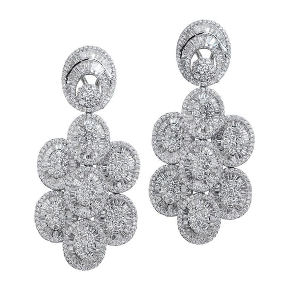 6FL033565AWERD0 18KT White Diamond Earring $Ask For Price