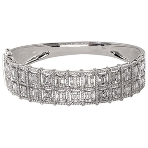 6FL033567AWBAD0 18KT White Diamond Bangle