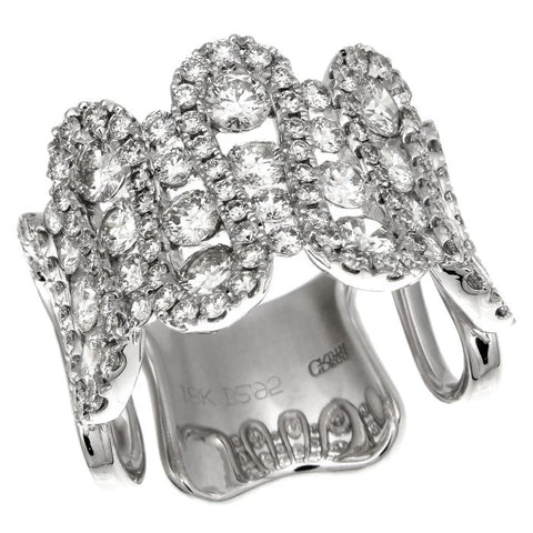 6FL147AWLRD0 18KT White Diamond Ring