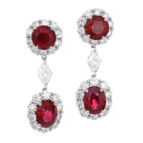 MF0064PWERDR001 PT Ruby Earring