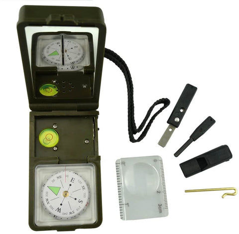 10 in 1 Compass Survival Tool