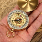 Copper Clamshell Compass