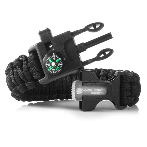 Ultimate Emergency Paracord Bracelet