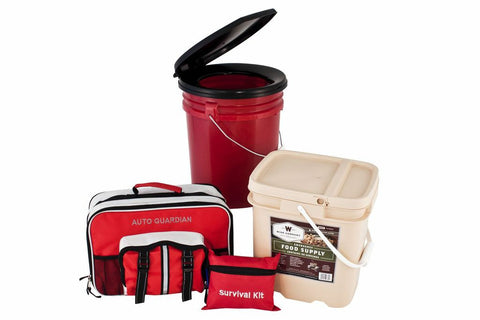 4 Person Preparedness Package w/ Food Storage