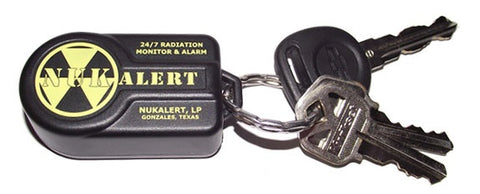 Key Chain Radiation Alarm