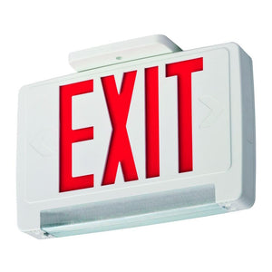 Exit Sign - LED -EZXTEU2RWEM - LED-White
