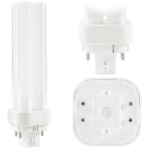 Philips 383372 CFL 26W PL-C 4-PIN (G24Q-3) Base 4100K Cool White Double Tube