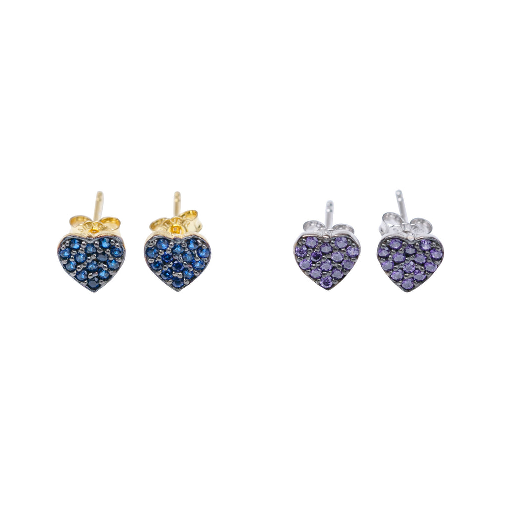 Étoile Classic Heart Stud Earrings
